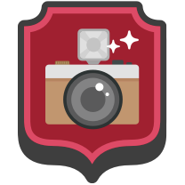 Camera Face Badge