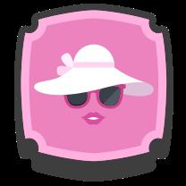 Fair lady Badge